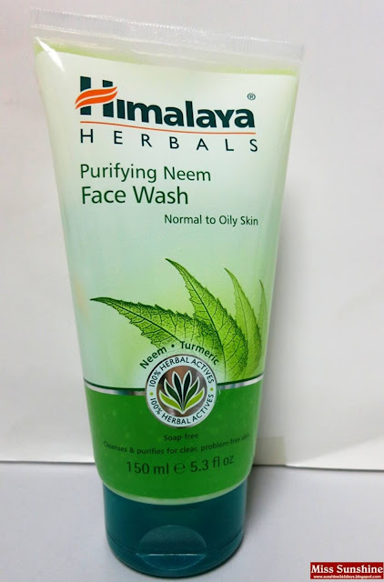 Himalaya herbal neem face wash